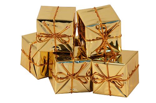 Ein Geschenk • zwei Geschenke • drei Geschenke
