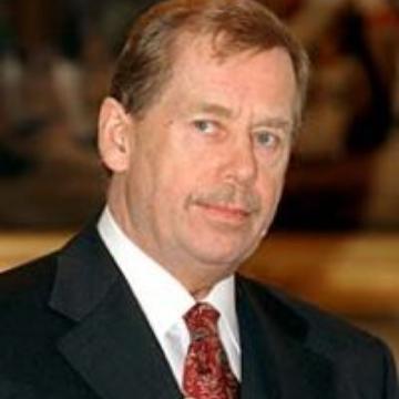 Eine Kerze für Václav Havel