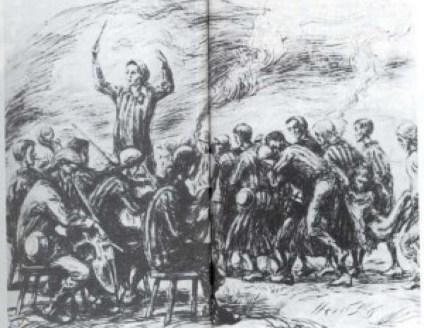 Orchester im Vernichtungslager Auschwitz