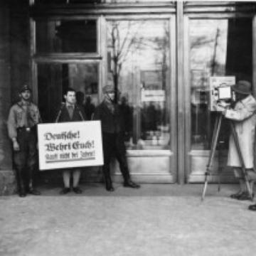 Wirtschafts-und Judenpolitik der Nationalsozialisten